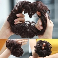 Used 2 pcs synthetic hair rubber band extra v in Dubai, UAE