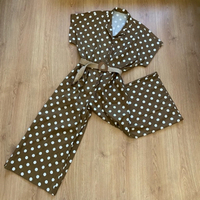 Used polka dot jumpsuit (freesize) in Dubai, UAE