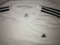 Used Adidas Men's White Shirt (Authentic)  in Dubai, UAE