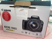 Used CANON EOS 100D WITH KIT LENS! in Dubai, UAE