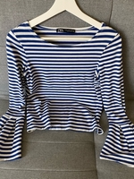 Used Zara Top size M new, tags removed  in Dubai, UAE