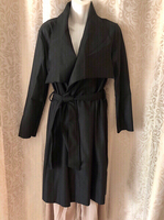Used Black trench coat UK 14  in Dubai, UAE