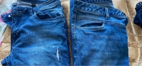 Used Jeans 2 pieces size 40 in Dubai, UAE