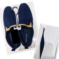 Used Men's Shoes navy blue size 43♥️ in Dubai, UAE