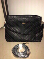 Used Brand New Black Leather Bag Big Size in Dubai, UAE