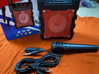 Used Portable mini Bluetooth karaoke speaker  in Dubai, UAE