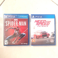 Used Spider-Man, Need For Speed PS4 & PS5 in Dubai, UAE