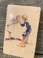 Used Norman Rockwell paying cards deck ♦️ in Dubai, UAE