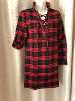 Used plaid flannel shirts size S  in Dubai, UAE