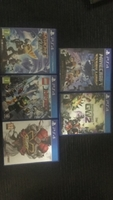 Used 5 different ps4 games (bundle offer) in Dubai, UAE