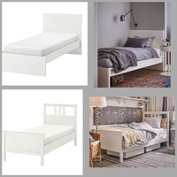 Used IKEA SINGLE BED FRAMES ( MALM & HEMNES) in Dubai, UAE