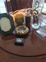 Used Hand made pic frame vase and ornaments  in Dubai, UAE
