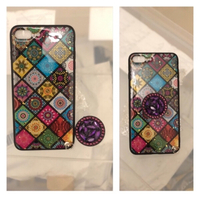Used Colourful case with stand-iPhone7/8 plus in Dubai, UAE