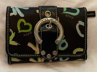 Used Rare XOXO wallet from USA Black in Dubai, UAE