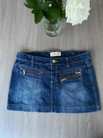Used Jeans skirt size 8 premium collection in Dubai, UAE