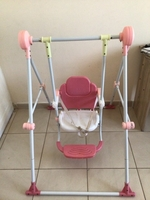 Used Kids swing plus slide in Dubai, UAE