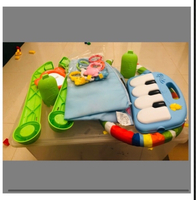 Used Baby Puzzle Music Crib in Dubai, UAE
