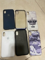Used Iphone 10 Bundle covers for Sale  in Dubai, UAE