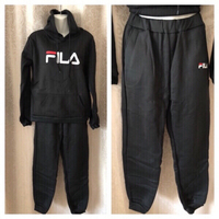 Used Fashionable tracksuit black size 3XL in Dubai, UAE