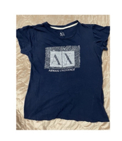 Used Armani Exchange Navy Blue T-shirt in Dubai, UAE