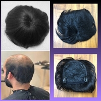 Used MENS MINIMALIST HAIR WIG/ BLACK  in Dubai, UAE