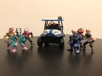 Used 6 Fortnite toys with a golf cart in Dubai, UAE