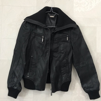 Used Pure leather jacket for a girl 👧🏻  in Dubai, UAE
