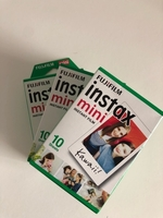 Used 3 X instax mini instant film in Dubai, UAE