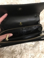Used Black Patent Clutch bag in Dubai, UAE
