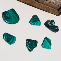 Used Malachite Green Tumbled Stone in Dubai, UAE