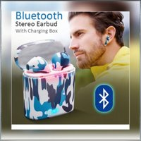 Used Brand new fashionable camouflage earbuds in Dubai, UAE