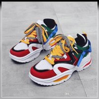 Used New colorful star running shoes size 40 in Dubai, UAE