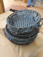Used 6 metal baskets 💣💣💣 in Dubai, UAE