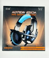 Used KOTION EACH G9000 gaming headphone- blue in Dubai, UAE