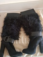 Used Authentic new John Galliano winter boots in Dubai, UAE