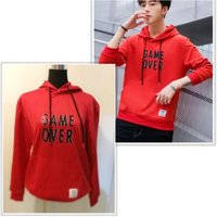 Used Brand new red game over hoodie size M in Dubai, UAE