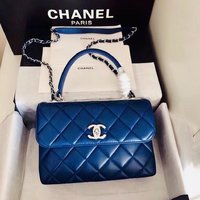 Used Royal blue handbag in Dubai, UAE