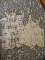 Used 2 baby suits. 0-3 months in Dubai, UAE