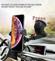 Used Universal phone car holder 2pcs in Dubai, UAE