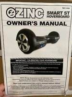 Used Zing smart st hoverboard in Dubai, UAE