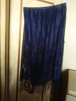Used Blue dupatta beautiful in Dubai, UAE
