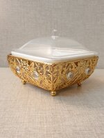 Used Golden Bowl with Lid in Dubai, UAE