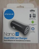 Used New:Phonesuit Nano Dual USB car Charger in Dubai, UAE
