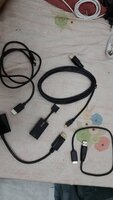 Used Assorted HDMI cables:5 pcs in Dubai, UAE