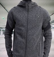 Used New collection PUMA jacket with hoodie in Dubai, UAE