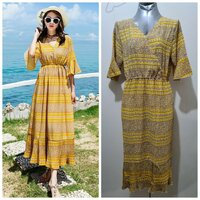 Used Brand new long summer dress size M to L in Dubai, UAE