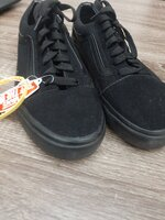 Used Vans black shoes in Dubai, UAE
