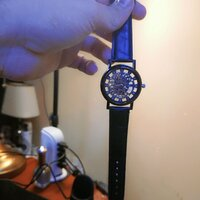 Used Black Skelton Watch wtch in Dubai, UAE