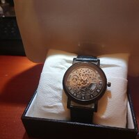 Used Transparent skeleton WATCH NEW. in Dubai, UAE