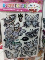 Used 3D Butterfly Stickers For Walls 🌸😍🌈 in Dubai, UAE